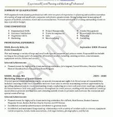 Ultimate Resume Sample Entry Level Event Coordinator With Additional Regarding Planner
