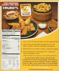 Frys Marketplace Patio Furniture by Amazon Com Drake U0027s Crispy Frymix 10oz Box Pack Of 3 Gourmet