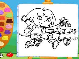 Full Size Of Coloring Pagedora Games Pages 14 The Explorer Page Large