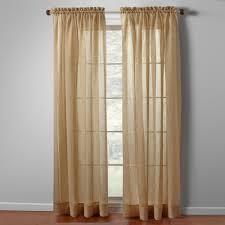 Blue Crushed Voile Curtains by Crushed Sheer Window Panels Set Of 2 Christmas Tree Shops Andthat