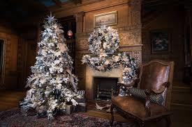 Vickerman Christmas Tree Flocked by Home Vickerman Company