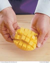 test cuisine dicing mango cuisine at home erecipes helpful cooking hints