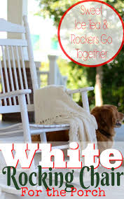 Polywood Rocking Chairs Amazon by Southern Style White Rocking Chairs For The Porch Come Sit A Spell