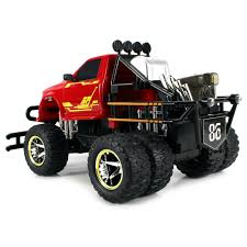 100 Rc Dually Truck Jungle Fire TG4 Electric RC Monster Big 112 Scale RTR