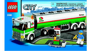 100 Lego City Tanker Truck Tank 3180 Instructions DIY Book YouTube