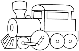 Printable Free Colouring Pages Transportation Train For Kids