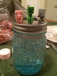 Pumpkin Pie Minecraft Id by Made This Snow Globe For My Brother Who Is Obsessed With Minecraft