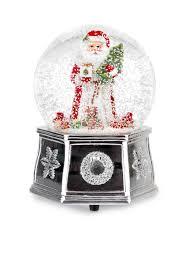 Christmas Tree Shop South Portland Maine Flyer by Spode Santa Snow Globe Small Belk