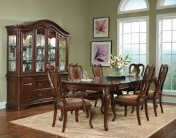 Modern Dining Room Sets With China Cabinet by Classic Modern Dining Room Luxurious Black Leather Carving Dining