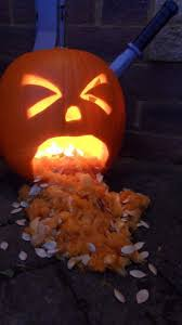 Vomiting Pumpkin Dip by Puking Pumpkin How To Decorate A Pumpkin Food Decoration On