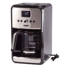 KrupsR Savoy Programmable 12 Cup Stainless Steel Coffee Maker