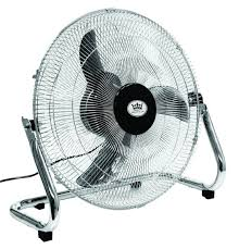 High Velocity Floor Fan Chrome by Retro And Vintage Fans A Fresh Old Look At Cooling Colour My
