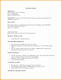 Resume Format For Diploma Mechanical Engineers Freshers Pdf Elegant Engineer Doc Intoysearch