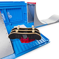 Tech Deck Fingerboards Walmart by Tech Deck U2013 Transforming Sk8 Container With Ramp Set And