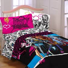 monster high ghouls rule reversible comforter walmart com