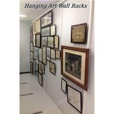 Wall Mounted Artwork Mesh Display Rack