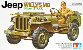 100 Willys Truck Parts Tamiya 35219 US 14 Ton 4x4 Jeep MB 135 Scale Kit EBay