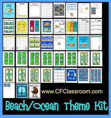 53 Best Neutral Beach Theme by Beach Ocean Themed Classroom Clutter Free Classroom
