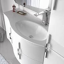 bagno italia badezimmermöbel sting aufgehängt 104 cm in 4