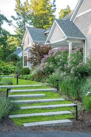 outdoor step designs landscape modern with concrete garden wall