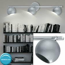 lighting decken strahler 3x spots beweglich leuchte wand le stahl silber wohnzimmer home furniture diy itkart org