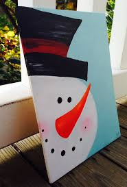 This Hand Painted Wooden Sign Of Frosty Makes For The Perfect Addition To Your Holiday Decor