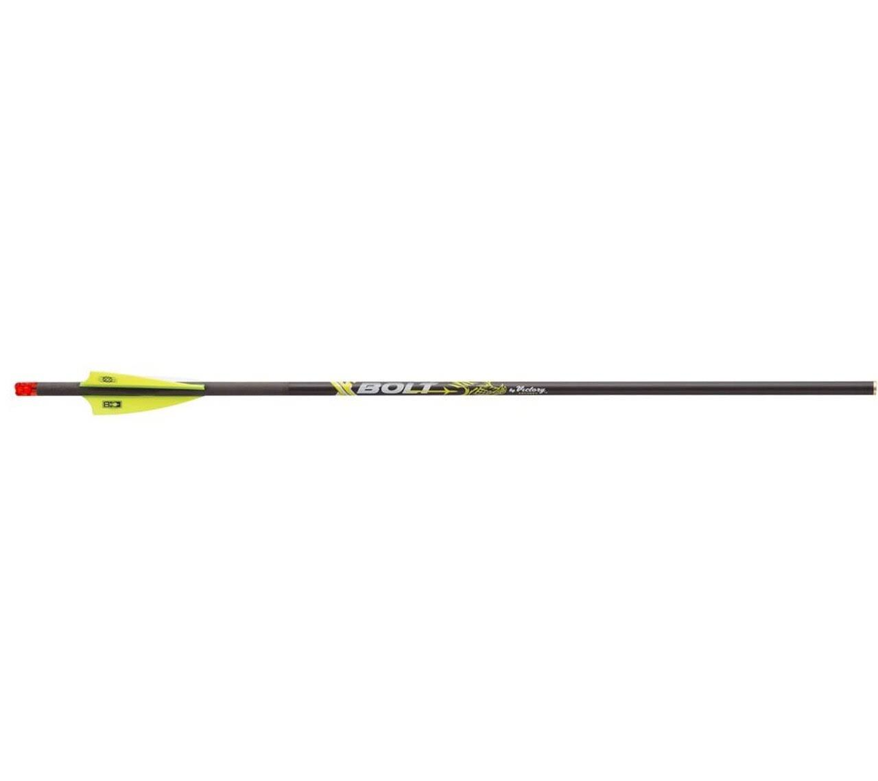 Victory Xbolt Crossbow Bolt 20in. Half Moon Lighted Nock 3 Pk.