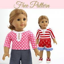 18 Inch Doll Pattern 18 Inch Doll Dress Pattern 18 Inch Doll