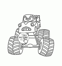 100 Monster Truck Mater Coloring Pages Cars Page For Kids Transportation