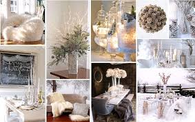Winter Rustic Chic Holiday Party Decor