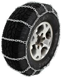 Glacier Alloy Square-Link Snow Tire Chains - 1 Pair Glacier Tire ...