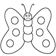 Butterfly Coloring Pages Printable Monarch