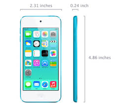iPod touch 5th generation Technical Specifications