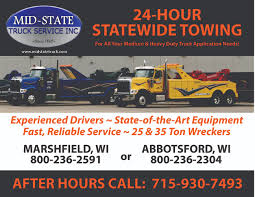 100 Wisconsin Sport Trucks Service Department MidState Truck Service Inc Marshfield