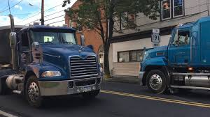 100 Bangor Truck A Busy Morning In Downtown PA Local Spotting YouTube