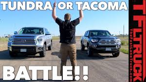 Compared: Tacoma Vs Tundra - Watch This Before You Buy A Toyota ...