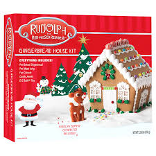Meijer Home Wall Decor by Rudolph Gingerbread House Kit Meijer Com