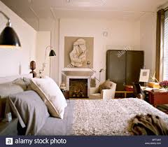 Modern Neutral Bedroom Wooden Bed Textured Cover Fireplace ... Desk Chair And Single Bed With Blue Bedding In Cozy Bedroom Lngfjll Office Gunnared Beige Black Bedroom Hot Item Ergonomic Home Fniture Comfotable Chairs Wheels Basketball Hoop Chair Bedside Tables Rooms White Bedrooms And Small Hotel Office Table Desk Lamp Wooden Work In Stool Space Image Makeup Folding Table Marvellous Computer Set 112 Dollhouse Miniature 6pcs Wood Eu Student Main Sowing Backrest Solo Stores Seating Reading 40 Luxury Modern Adjustable Height