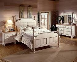 White Vintage Rustic Bedroom Ideas With Furniture Sets