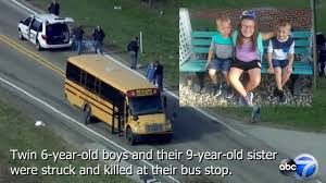 100 Three Sisters Truck Stop Twin Boys 6 And 9yearold Sister Fatally Struck At School Bus