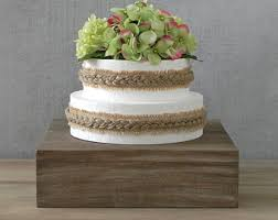 Cake Stand Rustic Mother Country Barn Wooden Box Wedding Decor Display