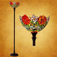 Tiffany Style Glass Torchiere Floor Lamp by Vintage Fashion Decor Picture More Detailed Picture About