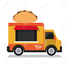 100 Mexican Truck Taco Fast Food Delivery Transportation Creative