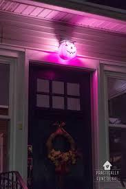 Diy Halloween Pathway Lights by Diy Pumpkin Porch Light Diy Pumpkin Porch And Lights