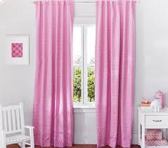 Pink Ruffle Blackout Curtains by Decor Window Treatments Pottery Barn Pottery Barn Blackout