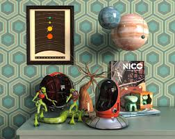 model chambre chambre ufo 3d model cgtrader