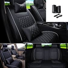 Buy FLY5D Universal Car Seat Covers PU Leather 5-Seats Auto Seat ... Dodge Ram Pickup Seat Covers Unique 1500 Leather Truck Seat Covers Lvo Fh4 Black Eco Leather For Jeep Wrangler Truck Leatherlite Series Custom Fit Fia Inc Auto Upholstery Convertible Tops Mccoys New York Ny By Clazzio Man Tga Katzkin Vs 20pc Faux Gray Black Set Heavy Duty Rubber Diamond Front Cover Masque Luxury Supports Car Microfiber