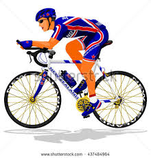 Kiwi Road Cyclist On Transparent Background