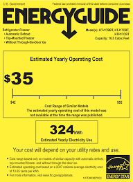 A Photo Of An Energy Guide Label