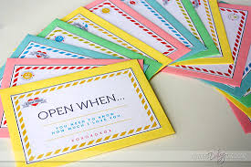 Open When Letters To Encourage Him